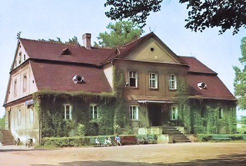 Dworek w Palowicach - rok 1974